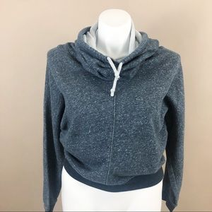 Nike Sportswear Cowl Neck Hooded Pull Over Large